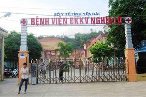Bệnh viện Nghĩa Lộ đang điều trị cách ly ba người Trung Quốc nghi nhiễm nCoV