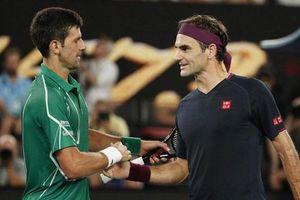 Novak Djokovic: 'Tôi dành sự tôn trọng cao độ cho Roger Federer'