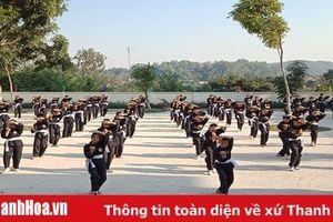 Khởi sắc mô hình câu lạc bộ võ thuật ở huyện Hà Trung
