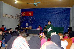 BĐBP Lai Châu nỗ lực phòng chống bệnh viêm phổi do virus Corona