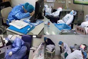 Xót xa hình ảnh các nữ y tá giữa tâm dịch Vũ Hán