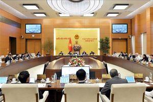 Nghị quyết của Ủy ban Thường vụ Quốc hội về việc sắp xếp các đơn vị hành chính một số địa phương thuộc vùng Nam Trung bộ