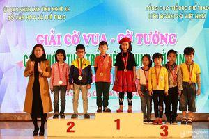 Nghệ An đoạt 11 HCV tại Giải Cờ vua - Cờ tướng miền Trung