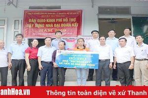 Hội Chữ thập đỏ huyện Hà Trung triển khai hiệu quả hoạt động nhân đạo
