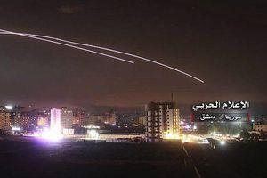 Hình ảnh phòng không Syria đánh chặn tên lửa Israel tại Damascus