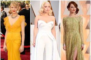 Mãn nhãn trước 15 trang phục thời trang thảm đỏ Oscar ấn tượng nhất mọi thời đại