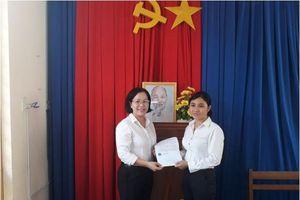 TAND tỉnh Tây Ninh trao tiền trợ cấp của Quỹ tình nghĩa Tòa án nhân dân