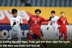 'Chúc Đội tuyển nữ Việt Nam tiếp tục gặt hái thành công'