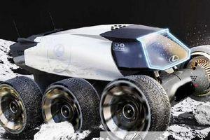 Bất ngờ ý tưởng ôtô lăn bánh thám hiểm Mặt trăng