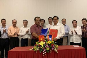 Hai Đoàn Chuyên viên biên giới Việt Nam - Lào họp tại Thủ đô Vientiane