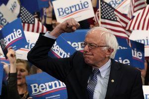 Bầu cử Mỹ: Ứng viên Bernie Sanders thắng lớn
