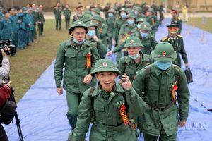Quân khu 2 hoàn tất việc giao nhận tân binh