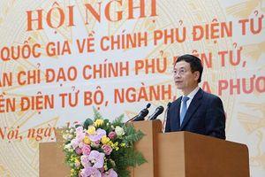 Bộ trưởng Bộ TT&TT Nguyễn Mạnh Hùng: Tỷ lệ văn bản điện tử được trao đổi qua mạng từ 72% năm 2018 lên 86,5% năm 2019