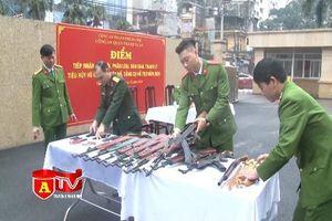 Thu hồi vũ khí, vật liệu nổ để phòng ngừa phát sinh tội phạm