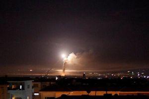 Israel tấn công tên lửa nhằm vào mục tiêu quân sự Iran tại Syria