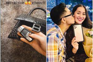 Phan Hiển chi trăm triệu tặng quà vợ, Tú Anh nhận xe hơi từ chồng ngày Valentine