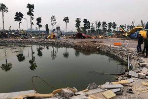 Xử lý vi phạm tại Công viên nước Thanh Hà: Tháo dỡ hay phá dỡ?