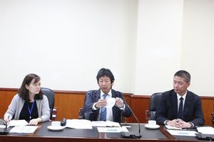 Thứ trưởng Đặng Hoàng An làm việc với Tập đoàn AEON Việt Nam