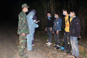 Đồn Biên phòng Thị Hoa phát hiện 4 công dân nhập cảnh trái phép vào Việt Nam