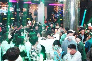Đột kích quán bar Rain Đà Lạt, phát hiện gần 100 thanh niên phê ma túy