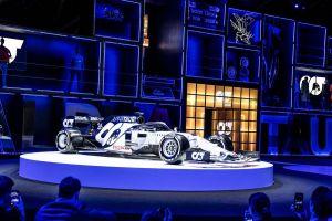 Đội đua AlphaTauri ra mắt mẫu xe mới cho mùa giải F1 2020
