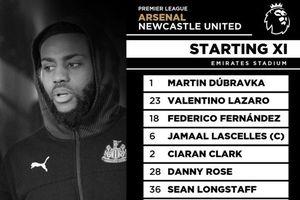 Arsenal 0-0 Newcastle: Aubameyang đá chính trước tin đồn sang Barca