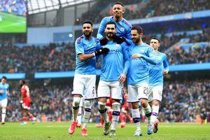Man City tan giấc mộng trời Âu