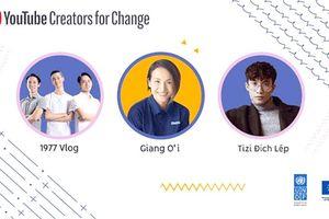 Việt Nam có 3 đại sứ Người sáng tạo thay đổi YouTube đầu tiên