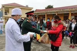 Lào Cai: 52 người được về gia đình sau 14 ngày cách ly