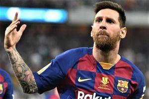 Messi lần đầu nhận giải VĐV của năm cùng Lewis Hamilton