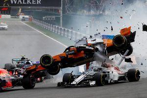 10 tai nạn đáng quên trên đường đua F1