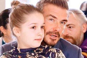 Con gái David Beckham được khen càng lớn càng xinh