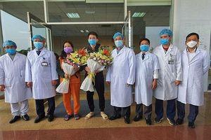 Hai bệnh nhân Vĩnh Phúc mắc Covid-19 được xuất viện