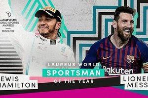 Siêu sao Lionel Messi giành 'Oscar thể thao'
