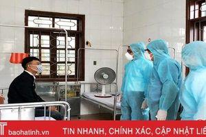 Bệnh nhân ở Hương Sơn trở về từ Vĩnh Phúc âm tính với Covid-19
