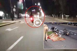 Người đàn ông bị xe máy tông chết khi đang sang đường