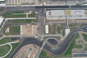 Đường đua F1 tại Hà Nội ra sao sau gần một năm thi công?