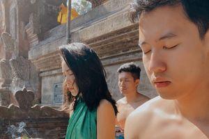 Hot girl Hà Trúc và bạn trai cơ trưởng nên duyên trong chuyến đi Bali