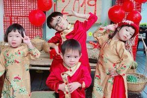 Loạt ảnh 4 nhóc tì nhà Lý Hải - Minh Hà đáng yêu lịm tim