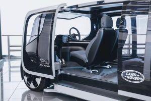 Jaguar Land Rover hé lộ concept xe tự hành Project Vector