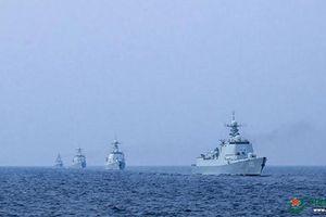 Lo đối phó Mỹ, hải quân TQ tập trận ở vị trí 'bí mật' trên Thái Bình Dương