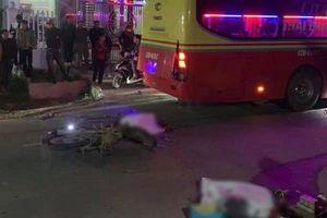 Va chạm với ô tô khách, 2 người đi xe máy tử vong tại chỗ