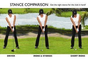 Cách đứng và cầm gậy golf chuẩn xác golfer cần biết