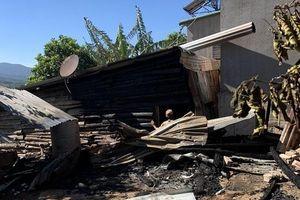 Lâm Đồng: 'Bà hỏa' thiêu rụi căn nhà vắng chủ trong đêm