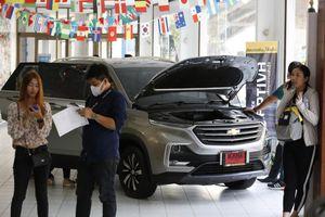 Giảm nửa giá, xả hàng xe Chevrolet tồn kho tại Thái Lan