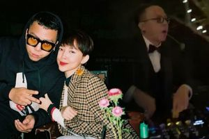 Clip siêu hot từ đám cưới Tóc Tiên: Chú rể Hoàng Touliver quẩy 'Cục xì lầu ông bê lắp' cực sung bên 500 anh em