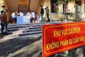 Quảng Nam: Kiểm điểm 2 Trưởng trạm y tế đề nghị cách ly người đến từ Vĩnh Phúc