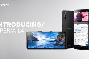 Sony Xperia L4 là smartphone Sony đầu tiên có màn hình giọt nước