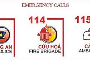 Miễn phí cước gọi đến dịch vụ khẩn cấp