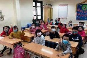 Hà Nội: Học sinh đi học trở lại vào 2/3